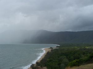 wild natural coastline, Queensland