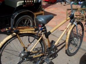 Bamboo bike, Cambodia